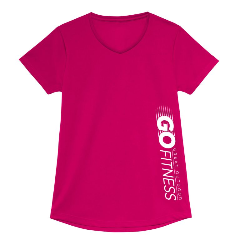 GOF Sidebar Performance V-Neck Tee - Women's Fit